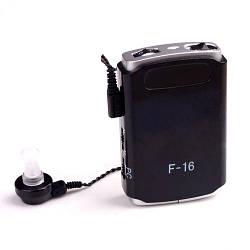 Усилитель слуха, Аксон, Axon, цвет - черный, axon f 16, слуховой апарат (GK)