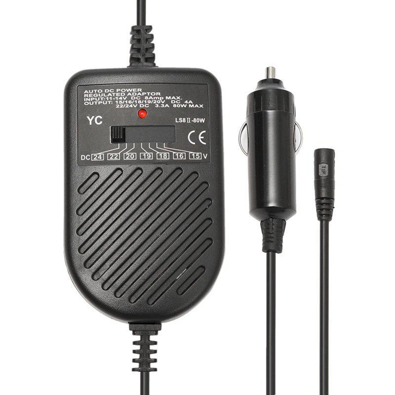 Універсальний зарядний пристрій від прикурювача EWDD8040, зарядка для ноутбука від прикурювача
