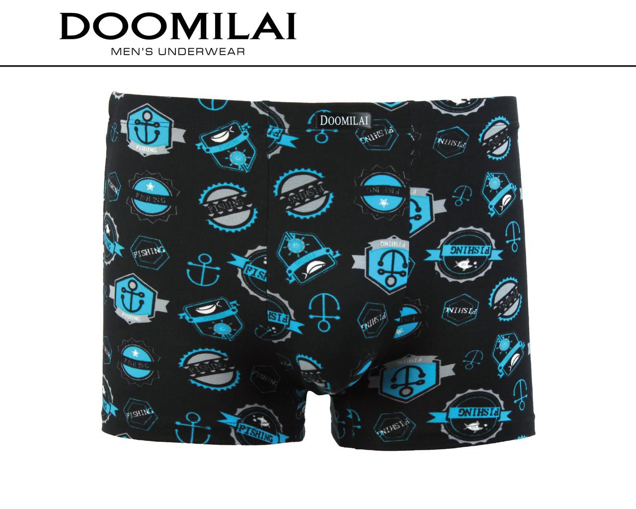 """Чоловічі стрейчеві боксери з бамбука марка """"DOOMILAI"""" Арт.D-01239(3XL,4XL)"""