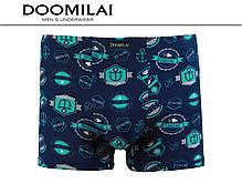 """Чоловічі стрейчеві боксери з бамбука марка """"DOOMILAI"""" Арт.D-01239(3XL,4XL), фото 2"""