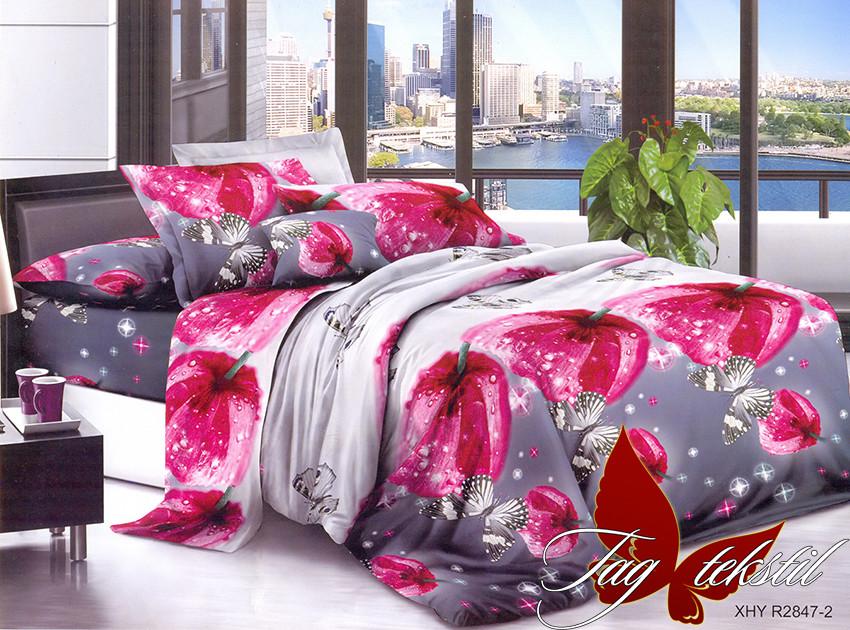 Двуспальный комплект постельного белья с 3D эффектом PS-NZ2847