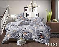 Двуспальный комплект постельного белья с 3D эффектом PS-B049