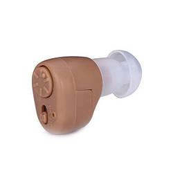 Внутриушной слуховой аппарат Axon K-86 (Аксон) Бежевый усилитель слуха | внутрішньовушний слуховий апарат (GK)