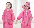 Детский дождевик, розовый зайчик, дождевик (GK), фото 2