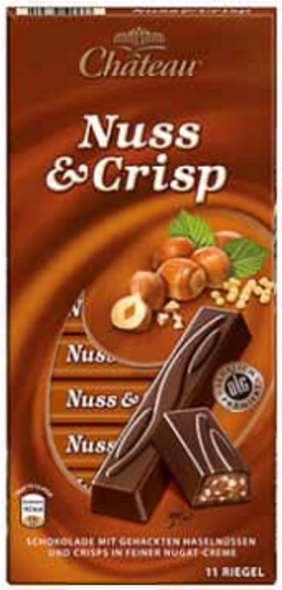 Шоколад Château Nuss Crisp 200 г