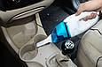 Ручной автомобильный пылесос + 2 насадки и фильтр, мини пылесос для машины | автомобільний пилосос (GK), фото 9