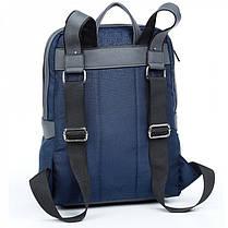 Рюкзак городской женский синий Dolly 381 модный 40*29 см, фото 3