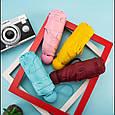 Розпродаж! Зонт капсула (Блакитний) маленький кишеньковий дитячий парасольку від дощу - минизонт жіночий в, фото 3