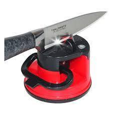 Ручная точилка для кухонных ножей Knife Sharpener на присоске