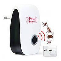 Ультразвуковой электронный отпугиватель комаров, мышей, крыс, тараканов Pest Reject