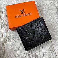 Кошелёк Louis Vuitton Кожаный кошелек ( Луи Витон ) LV мужской