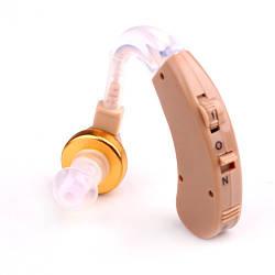 Заушный аналоговый слуховой аппарат Axon X-168 для пожилых людей, с доставкой по Киеву и Украине (GK)