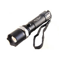 Мощный ручной фонарик Bailong 1000W BL-T8626 Черный,  аккумуляторный светодиодный фонарик (NV), фото 1