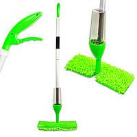 Распродажа! Швабра с распылителем для уборки пола с дополнительной насадкой для мытья окон Healthy Spray Mop, фото 1