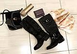 38р. Жіночі стильні гумові чоботи утеплені  (Г-3), фото 3