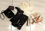 38р. Жіночі стильні гумові чоботи утеплені  (Г-3), фото 5