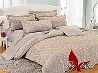 Полуторный комплект постельного белья поплин с компаньоном PC050