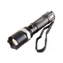 Потужний ручний ліхтарик Bailong 1000W BL-T8626 Чорний, акумуляторний світлодіодний ліхтарик