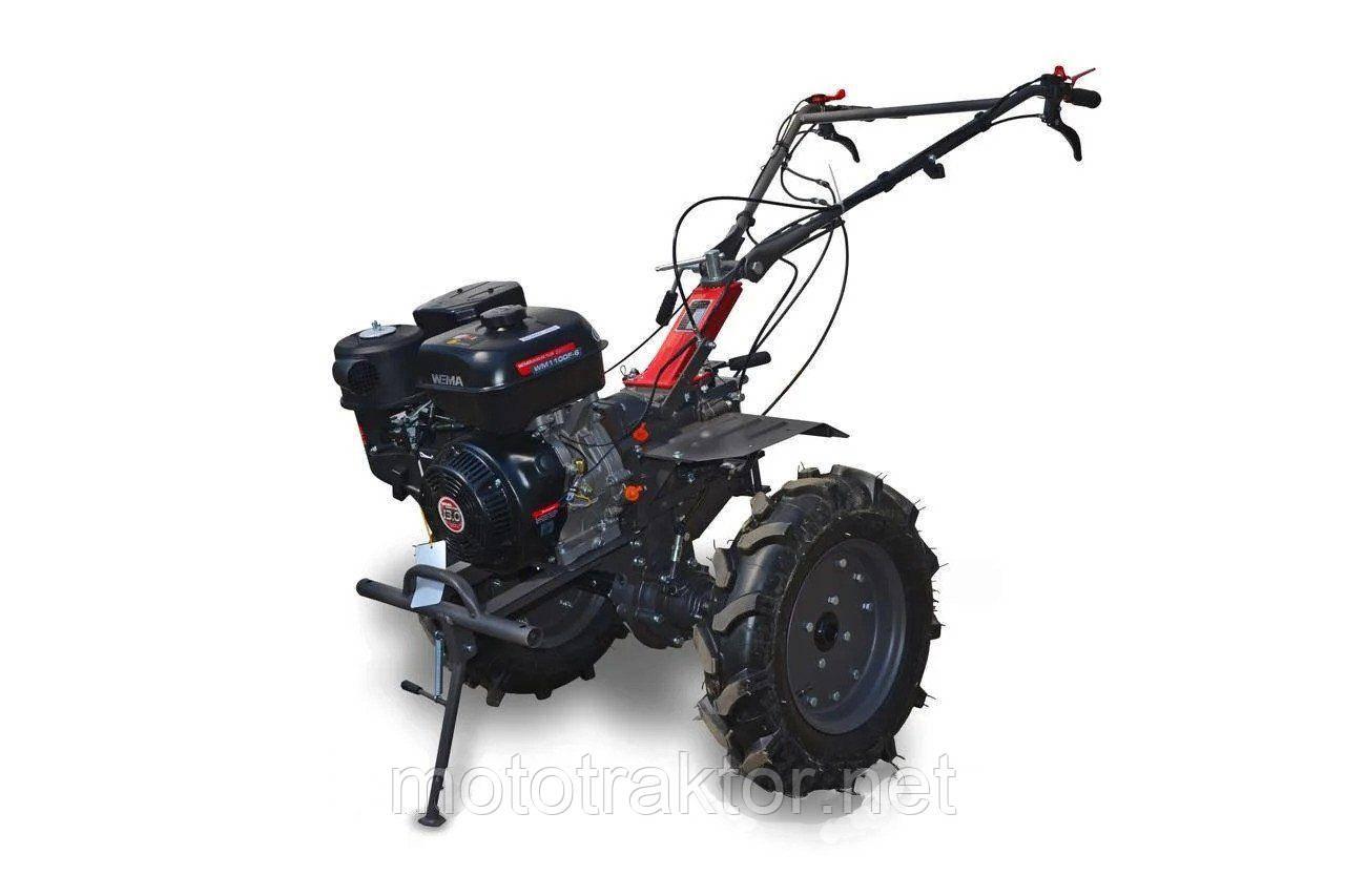 Мотоблок WEIMA WM1100F-6 (ДИФФ, колеса 5,00-12, бензин 13л.с)