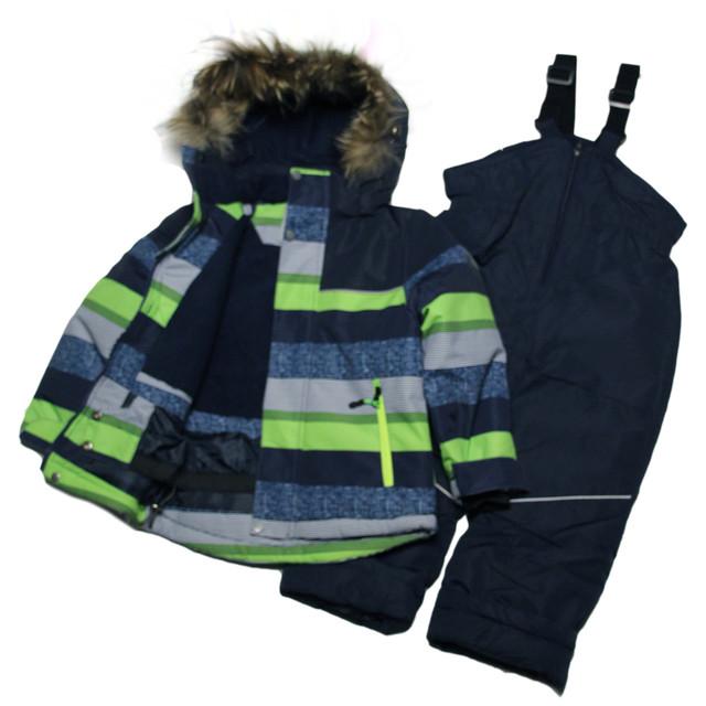 детский зимний раздельный термокомбинезон для мальчика