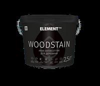 Аква-антисептик Бесцветный для дерева WOODSTAIN Element 2,5л (Аквалазурь элемент)