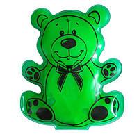 Сольова грілка «Ведмедик» Зелений