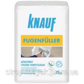 Кнауф фугенфюллер шпаклевка для гипсокартона 25кг Knauf