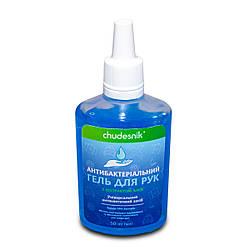 Распродажа! Кожный спиртовой антисептик, антибактериальный гель для рук - обеззараживатель Чудесник 50 мл (GK)