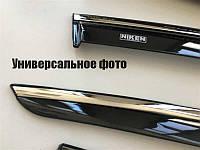 Дефлекторы окон (ветровики) Hyundai Accent 2011-2017 (с хром молдингом) 047hy100201