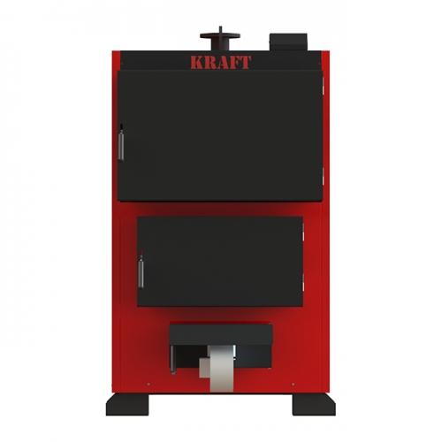 Промышленный котел длительного горения Kraft Prom 800 кВт с жаротрубным теплообменником