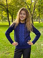 Теплый свитер с вышевкой, фото 1