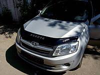 Дефлектор капота (мухобойка) Lada Granta 2011-