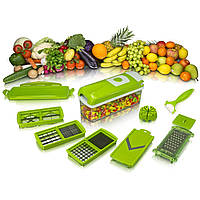 Багатофункціональна овочерізка, слайсер, Nicer Dicer plus, кухонні терка