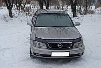Дефлектор капота (мухобойка) Opel Omega В 1999-2003 /рестайлинг
