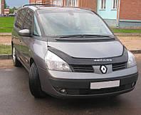 Дефлектор капота (мухобойка) Renault Espace (J81) 2002-, фото 1