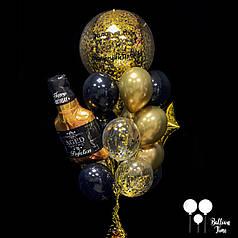 Шикарная связка шаров для мужчины
