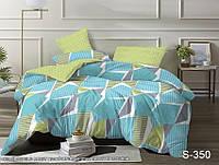 Двуспальный комплект постельного белья сатин люкс с компаньоном S350, фото 1