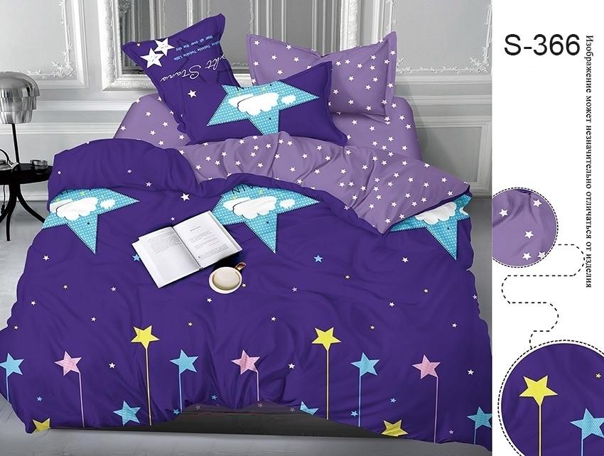 Евро комплект постельного белья с компаньоном S366