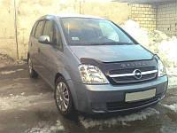 Дефлектор капота (мухобойка) Opel Meriva 2002-2008