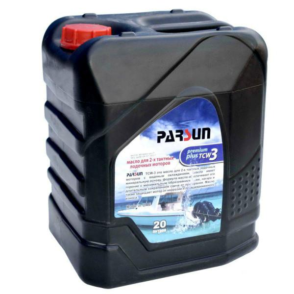 Масло Parsun 20 литров TC-w3 Premium Plus для двухтактных моторов