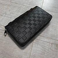 Портмоне Louis Vuitton Кожаный мужской кошелек ( Луи Витон ) LV Кошелёк
