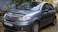 Дефлектор капоту (мухобійка) Citroen C3 2001-2009