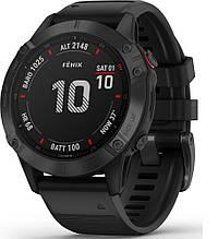 Смарт-часы Garmin Fenix 6 Pro Black (010-02158-02)