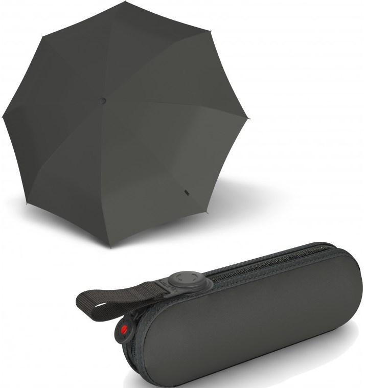 Мужской зонт механика Knirps 811 X1 Manual, темно серый