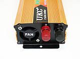 Перетворювач авто інвертор UKC 12V-220V 2000W, фото 3