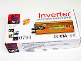 Перетворювач авто інвертор UKC 12V-220V 2000W, фото 6