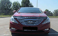 Дефлектор капоту (мухобійка) Hyundai Sonata (YF) 2009-