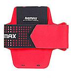 Чехол Remax Running Arm Band Size L 25cm спортивный красный, фото 2
