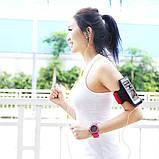 Чехол Remax Running Arm Band Size L 25cm спортивный красный, фото 4