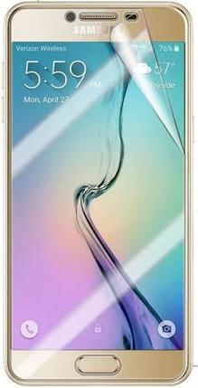 Гидрогелевая защитная пленка на Samsung Galaxy C7 на весь экран прозрачная, фото 2